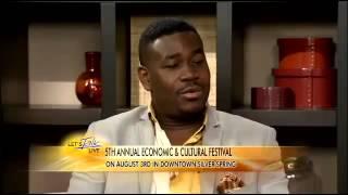 "La Main Tendue's interview w/ ""Let's Talk Live"" on News Channel 8 (5th Festival)"
