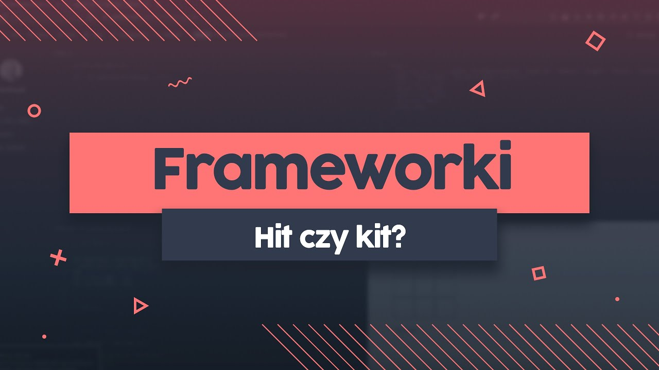 Frameworki na frontendzie - hit czy kit? | Przeprogramowani ft.code v0.0.31 cover image