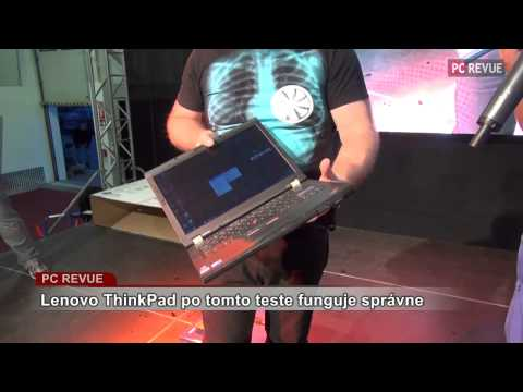 Краш-тест Lenovo ThinkPad T410