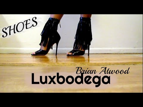 HIGH HEELS BRIAN ATWOOD SHOES UNBOXING | LUXBODEGA REVIEW