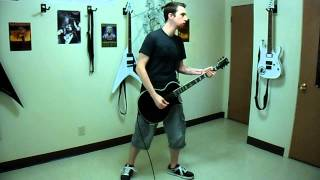 "Anthrax ""Earth on Hell"" Rhythm Guitar Cover"