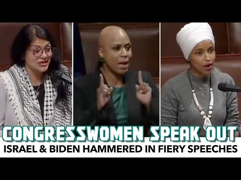 Israel & Biden Hammered In Fiery Speeches From Democratic Congresswomen