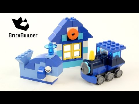 Vidéo LEGO Classic 10706 : Boîte de construction bleue