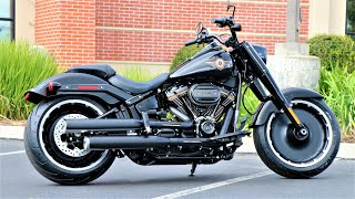 How The Harley-Davidson Fat Boy Became The Most Iconic American Motorcycle Of All Time.