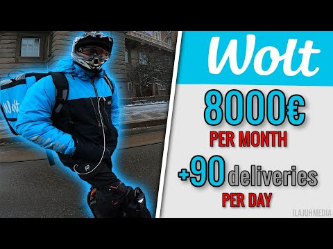 , title : 'Earning 8000€ per month from food delivery    World's fastest Wolt courier