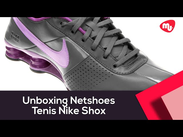 sports shoes e7075 c4427 ... authentic tênis nike shox junior branco e preto tlx unboxing netshoes  tenis nike shox feminino c599a