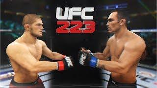8 Чудо Света UFC 3 KHABIB NURMAGOMEDOV vs TONY FERGUSON