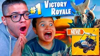 *NEW* TIER 100 SKIN IS UNSTOPPABLE! *NEW* DRIVING VEHICLES, PORTALS, MAP! FORTNITE BATTLE ROYALE!