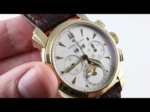Vacheron Constantin Malte Perpetual Calendar Chronograph 47112/000J-8913 Luxury Watch Review