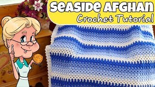NEW Seaside Afghan - Quick And Easy - Crochet Tutorial - Premier Basix Yarn