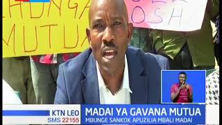 Waakazi wa Embakasi wamtetea Mutua huku mbuge Sankok akipuzilia mbali madai ya Mutua