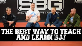 The Best Way to Teach and Learn BJJ