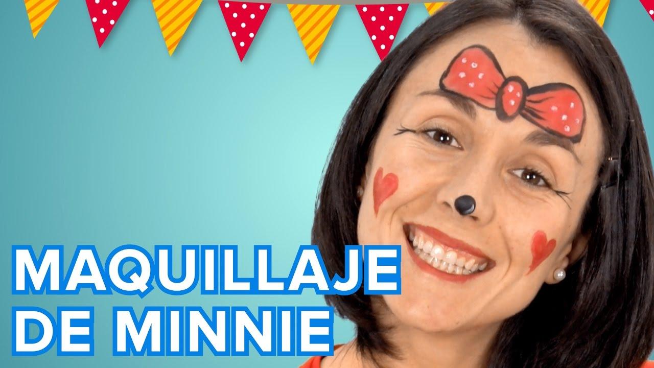 Maquillaje de Minnie Mouse de Disney para niñas