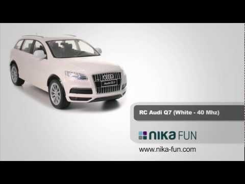 Video RC AUDI Q7 Produktvideo nika-fun Spielwaren Bremen