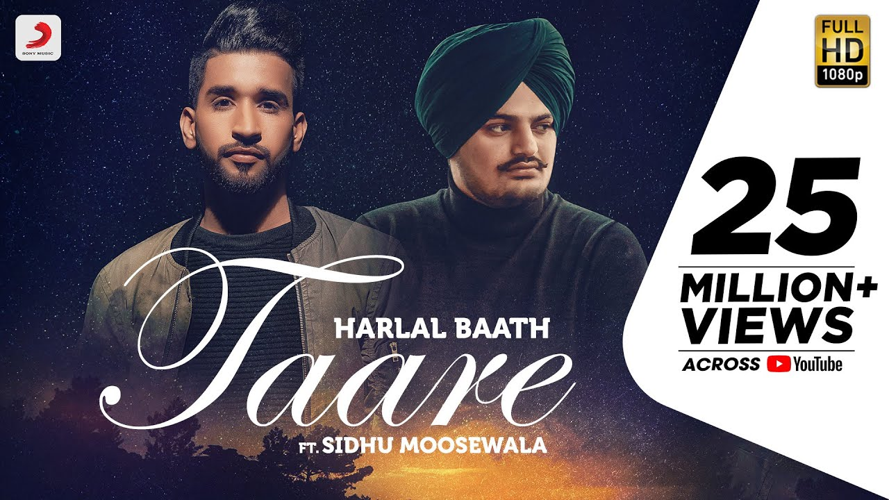 TAARE LYRICS by Sidhu Moosewala and Harlal Batth | Latest Punjabi Song 2020