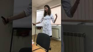 Доктор Мартынова с лекцией о современных способах борьбы с болезнями 21 века.