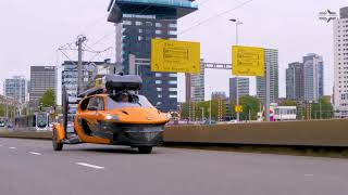 Flying Car PAL-V Liberty Hits The Road