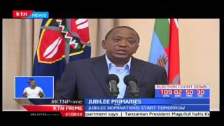 President Uhuru Kenyatta denies claims of campaigning publicly for Peter Kenneth while in Murang'a