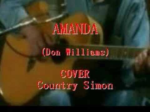 Amanda Chords Lyrics Don Williams