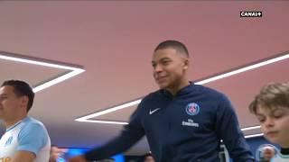 PSG / OM (Mars 2019) - LEntrée Des Joueurs !