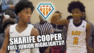 Is SHARIFE COOPER the CP3 of High School Basketball?!   Full Sophomore Highlights