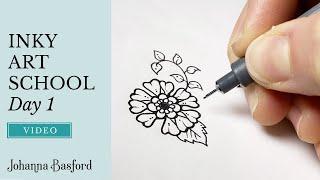 Inky Art School : Day 1