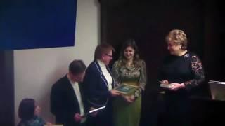 Вручение награды Минфина РФ команде Академии Пастухова