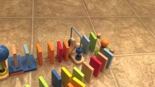 Hape Early Explorer Dynamo Dominoes Toy Review