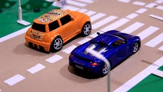 Toy Race Cars Videos | Toy Race Cars Crashing | Toy Race Cars | Race of toy - cars.