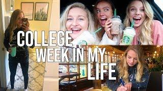 College Week In My Life Vlog!
