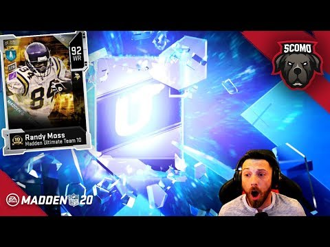 No Way! Limited Randy Moss! Madden 20 Pack Opening!