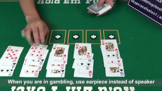 Poker Cheat Sacnning Spy Camera Lens For Poker Analyzer With Marked Cards Casino Gambling