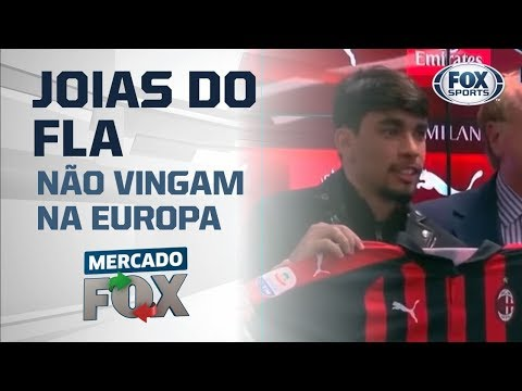 Joias do Flamengo não vingaram na Europa?