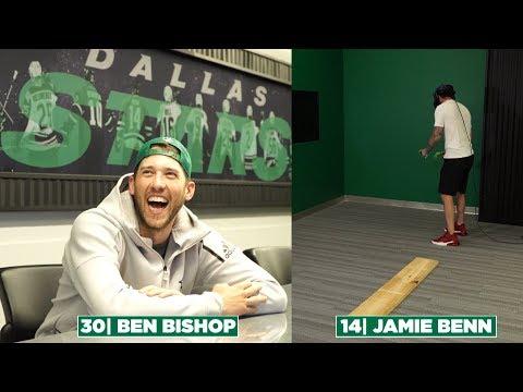 Jamie Benn, Ben Bishop Virtual Reality: Walk the Plank