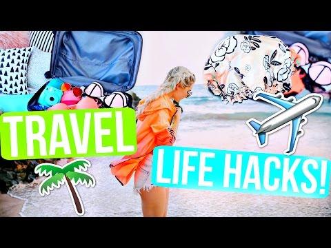 Travel Life Hacks! Save Money, Time & Space!   Aspyn Ovard