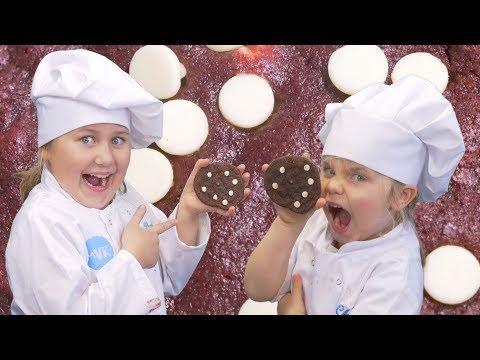 Red Velvet Cookie Recipe | Kids Kitchen