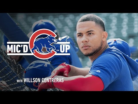Cubs Catcher Willson Contreras | Mic'd Up