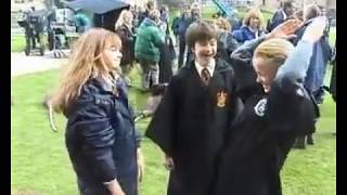 (Harry Potter) Hermione Granger Et Drago Malefoy Jouent Ensemble [Inédit]