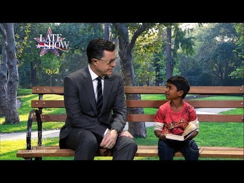 Stephen Gets Starstruck Meeting 'Lion' Star Sunny Pawar