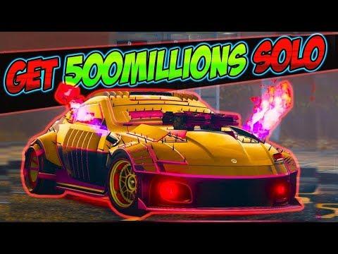 new unlimited solo - GTA 5 Money Glitch *Get 500 Million$* gta 1.46 online money glitch