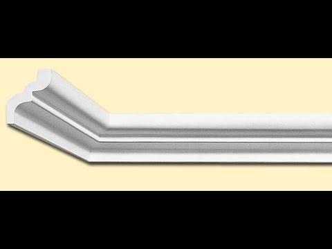 Как подрезать багет  потолочный плинтус без стусла если у вас углы не 90°