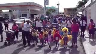 preview picture of video 'Children's Parade in The Valley, Anguilla'