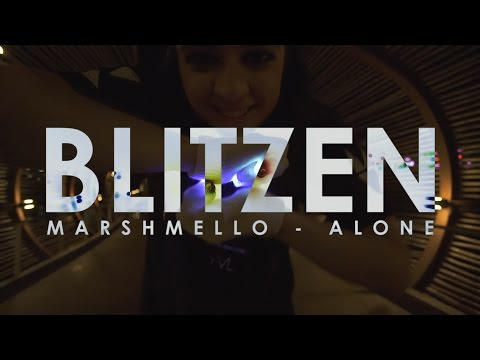 Blitzen | Marshmello - Alone Glove Light Show [EmazingLights.com]