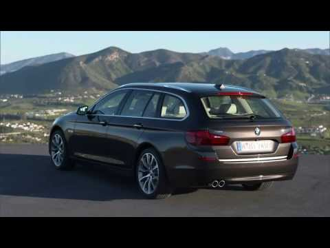 Bmw 5 Series F11 Универсал класса E - рекламное видео 3
