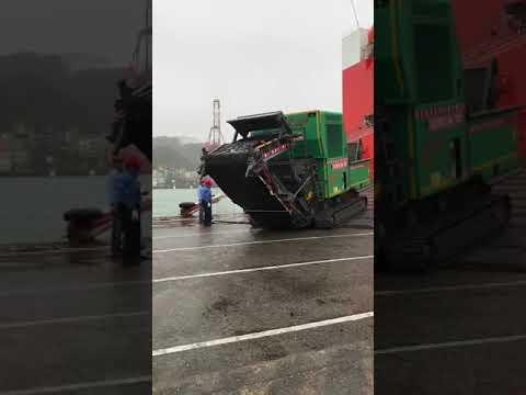 JENZ BA725D  TIGER 破碎機 港口