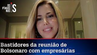 Bolsonaro tem encontro com empresárias em São Paulo