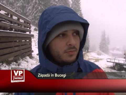 Zăpadă în Bucegi