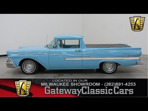 Video of '58 Ranchero located in Kenosha Wisconsin Offered by Gateway Classic Cars - Milwaukee - KH0V