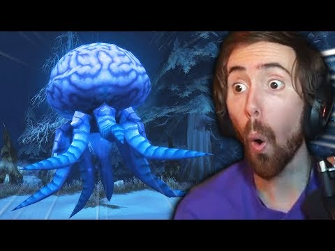 Asmongold Finds How To Get The SECRET Hivemind Mount!!