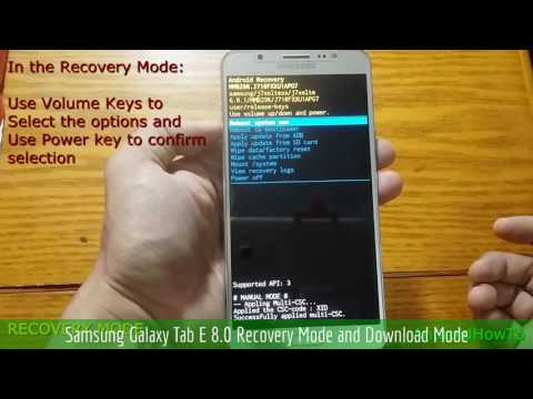 Samsung Galaxy Tab E 8 0 SM-T378L Hard reset - смотреть онлайн на
